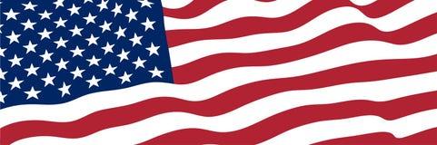 Staaten- von Amerikamarkierungsfahne Lizenzfreie Stockbilder