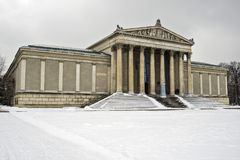 Staatliche Antikensammlungen in Munich, Germany. The Staatliche Antikensammlungen State Collections of Antiquities is a museum in Munich`s Kunstareal holding Royalty Free Stock Image