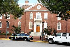 Staats-USA erstes Dovers Delaware Park Erb Lizenzfreie Stockfotografie