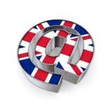 Am Staatsangehörigen - Vereinigtes Königreich Lizenzfreie Stockfotos