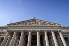 Staatsangehöriger archiviert Fassade Lizenzfreies Stockbild