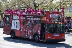2016 Staatsangehöriger Cherry Blossom Parade im Washington DC Lizenzfreie Stockfotos