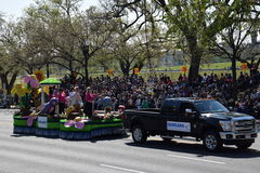 2016 Staatsangehöriger Cherry Blossom Parade im Washington DC Lizenzfreie Stockfotografie