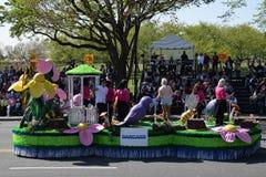 2016 Staatsangehöriger Cherry Blossom Parade im Washington DC Stockbilder