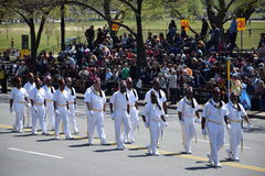 2016 Staatsangehöriger Cherry Blossom Parade im Washington DC Stockfoto