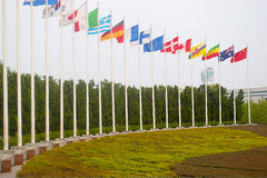 Staatsflagge Stockfotografie