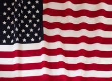 Staatsflagge der Vereinigten Staaten Stockfotografie