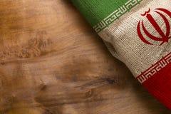 Staatsflagge vom Iran Stockfoto