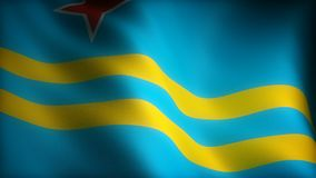 Staatsflagge von Aruba