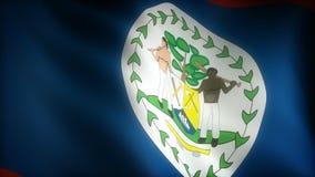 Staatsflagge von Belize