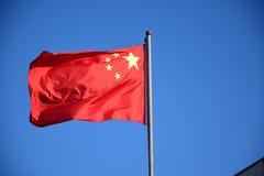 Staatsflagge von China Stockbild