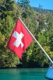 Staatsflagge von der Schweiz Lizenzfreies Stockbild