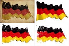Staatsflagge von Deutschland lizenzfreie abbildung