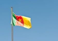 Staatsflagge von Kamerun Stockbild