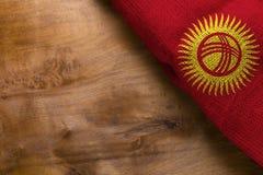 Staatsflagge von Kirgisistan Lizenzfreies Stockbild