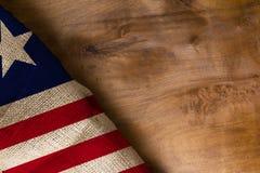 Staatsflagge von Liberia Stockfoto