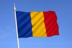 Staatsflagge von Rumänien - Osteuropa Lizenzfreies Stockbild