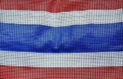 Staatsflagge von Thailand Lizenzfreie Stockfotos