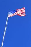 Staatsflagge von USA Stockfotografie