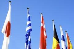 Staatsflaggen Stockfotos