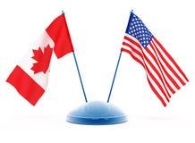 Staatsflaggen Lizenzfreies Stockfoto