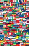 Staatsflaggen Stockbilder