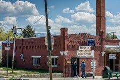 Staatsgefängnis in Montana Lizenzfreie Stockfotografie
