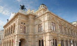 Staatsoper. The Vienna State Opera (Wiener Staatsoper), Austria Royalty Free Stock Photography