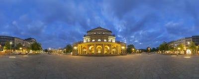 Staatsoper Hannover. 360 Grad-Panorama. Stockfotografie