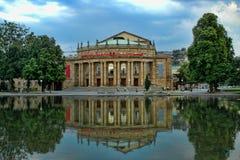 Staatsoper Stuttgart (het Huis van de Opera) Royalty-vrije Stock Afbeelding