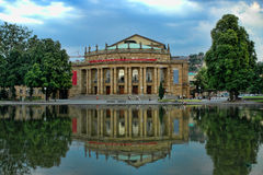 Staatsoper Stuttgart (teatro de la ópera) Imagen de archivo libre de regalías