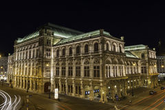 Staatsoper, Vienna Royalty Free Stock Photo