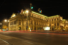 Staatsoper, Viennas grand Opera House Stock Photos