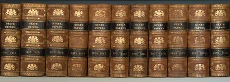 Staatspapiere-Bücher Stockbild