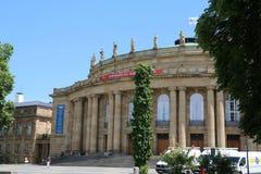 Staatstheater Stuttgart, Deutschland, Opernhaus lizenzfreie stockbilder