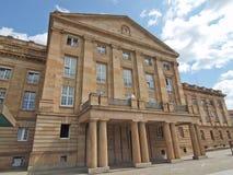 Staatstheather (teatro nazionale), Stuttgart fotografia stock libera da diritti