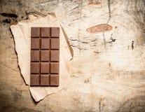 Stab der Milchschokolade Stockfotografie