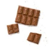Stab der Schokolade lizenzfreie stockfotos