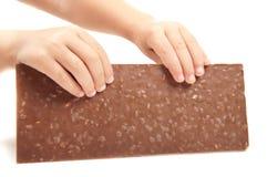 Stab der Schokolade Lizenzfreies Stockfoto