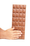 Stab der Schokolade Stockfoto
