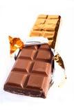 Stab der Schokolade Stockbilder