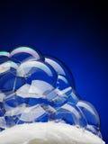 Stab der Seife mit Luftblasen Stockbilder