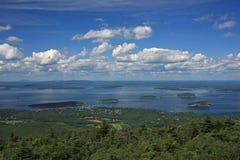 Stab-Hafen, Maine lizenzfreies stockbild
