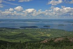 Stab-Hafen, Maine stockfotos
