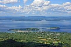 Stab-Hafen, Maine lizenzfreie stockfotos