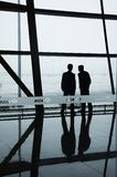 Stab zwei der Peking-Flughäfen Stockbild