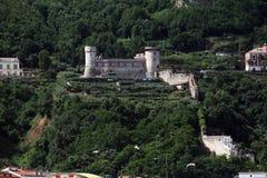 Stabia城堡 免版税库存照片