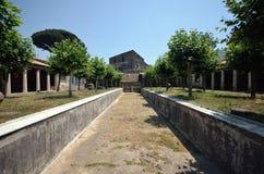 Stabiae. Piscina en el chalet San Marco Fotos de archivo