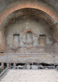 Stabian baths (Terme Stabiane) in Pompeii Royalty Free Stock Images