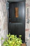 Stabile Tür in einem Landhaus Lizenzfreies Stockfoto